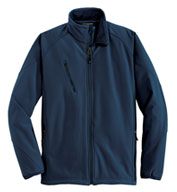 Custom Port Authority Mens Textured Soft Shell Jacket