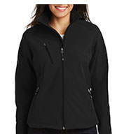 Custom Port Authority Ladies Textured Soft Shell Jacket