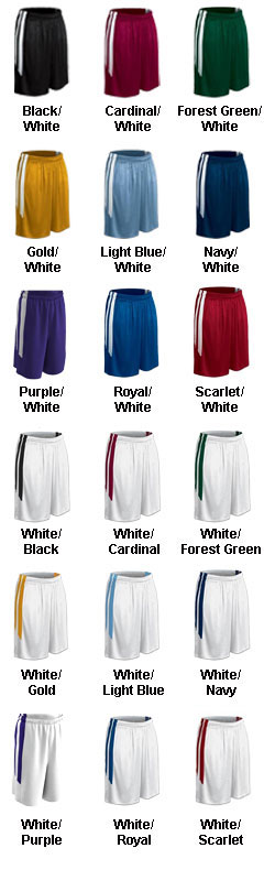 Youth Muscle Dri-Gear Basketball Short - All Colors