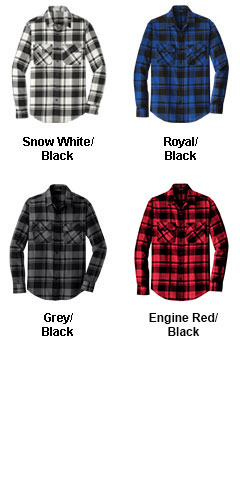 Mens Plaid Flannel Shirt - All Colors