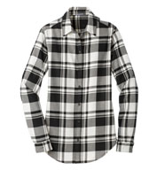 Custom Port Authority® Ladies Plaid Flannel Tunic