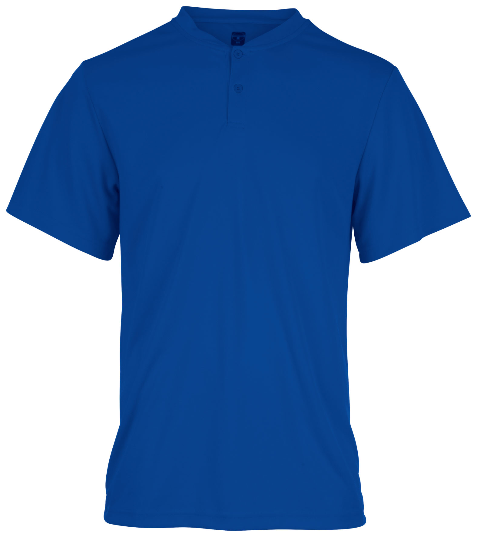 Teamwork Mens Engage Two-Button Jersey - CLOSEOUT