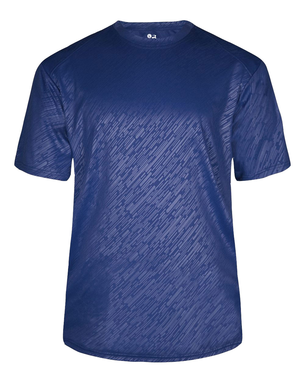 Badger Mens Line Embossed Tee
