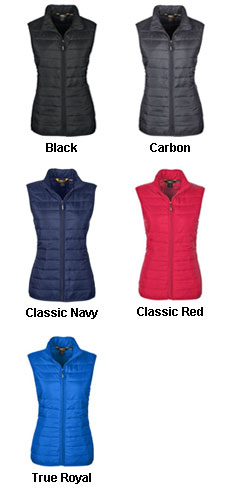 Ladies Prevail Packable Puffer Vest - All Colors