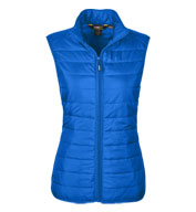 Custom Ladies Prevail Packable Puffer Vest