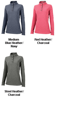 Womens Bayview Fleece Pullover - All Colors