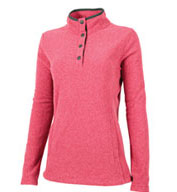 Custom Charles River Womens Bayview Fleece Pullover