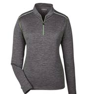 Custom Ash City Core 365 Womens Kinetic Performance 1/4-Zip