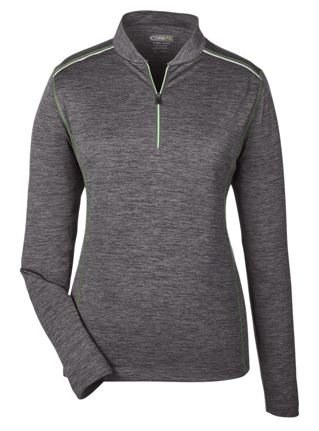 Ash City Core 365 Womens Kinetic Performance 1/4-Zip