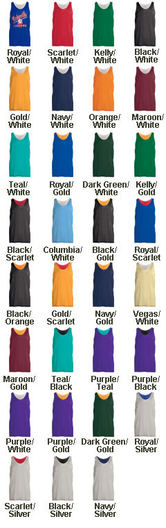 Custom Mens Mini Mesh Reversible Tank Top - All Colors