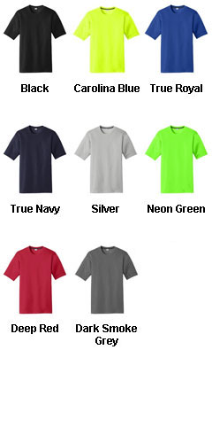 Sport-Tek® Mens PosiCharge® Competitor™ Cotton Touch™ Tee - All Colors