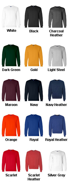 Champion Eco Crew Neck Sweatshirt - All Colors