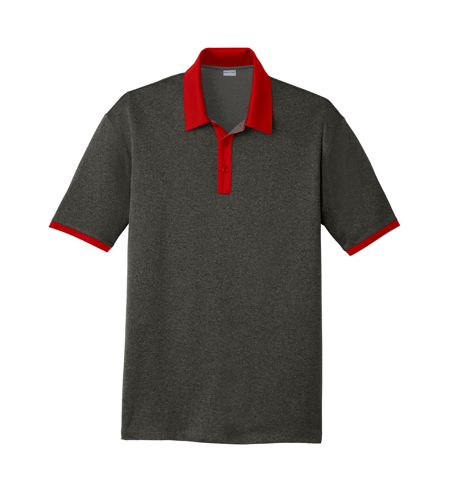 Sport-Tek® Mens Heather Contender™ Contrast Polo