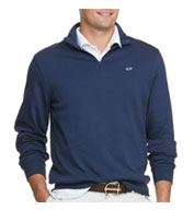 Custom Vineyard Vines Mens Jersey Zip