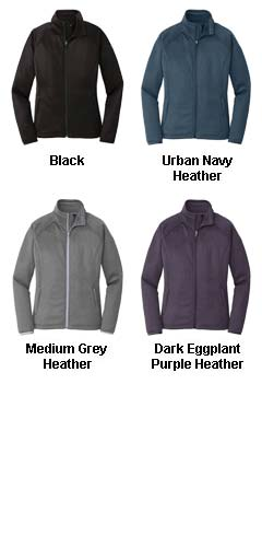 The North Face® Ladies Canyon Flats Stretch Fleece Jacket - All Colors