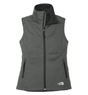 Custom The North Face® Ladies Ridgewall Soft Shell Vest