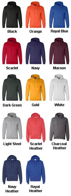 Champion Heavyweight Pullover Hooded Sweatshirt - All Colors