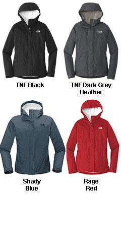 The North Face® Ladies Dryvent™ Rain Jacket - All Colors