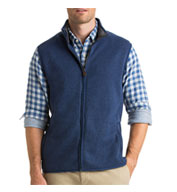Custom Vineyard Vines Mens Sweater Fleece Vest