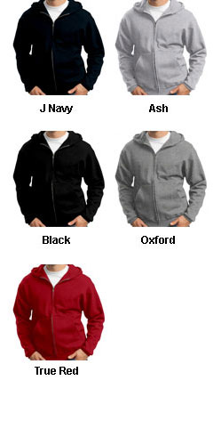 Jerzees Adult Full-Zip Hooded Sweatshirt - All Colors
