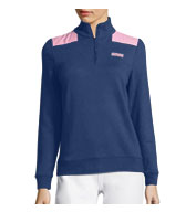 Custom Vineyard Vines Womens Oxford Stripe Shep Shirt