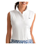 Custom Vineyard Vines Womens Renee Sleeveless Polo