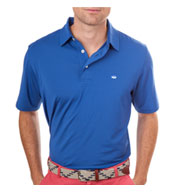Custom Southern Tide Mens Driver Performance Polo