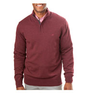 Custom Southern Tide Mens Skipper 1/4 Zip Sweater