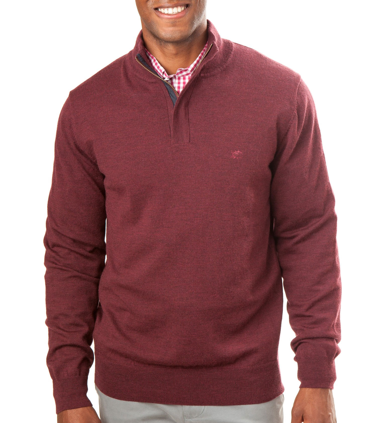 Southern Tide Mens Skipper 1/4 Zip Sweater