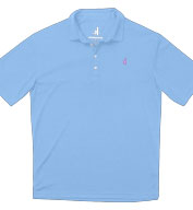 Custom Johnnie-O Mens Fairway Moisture Wicking Polo