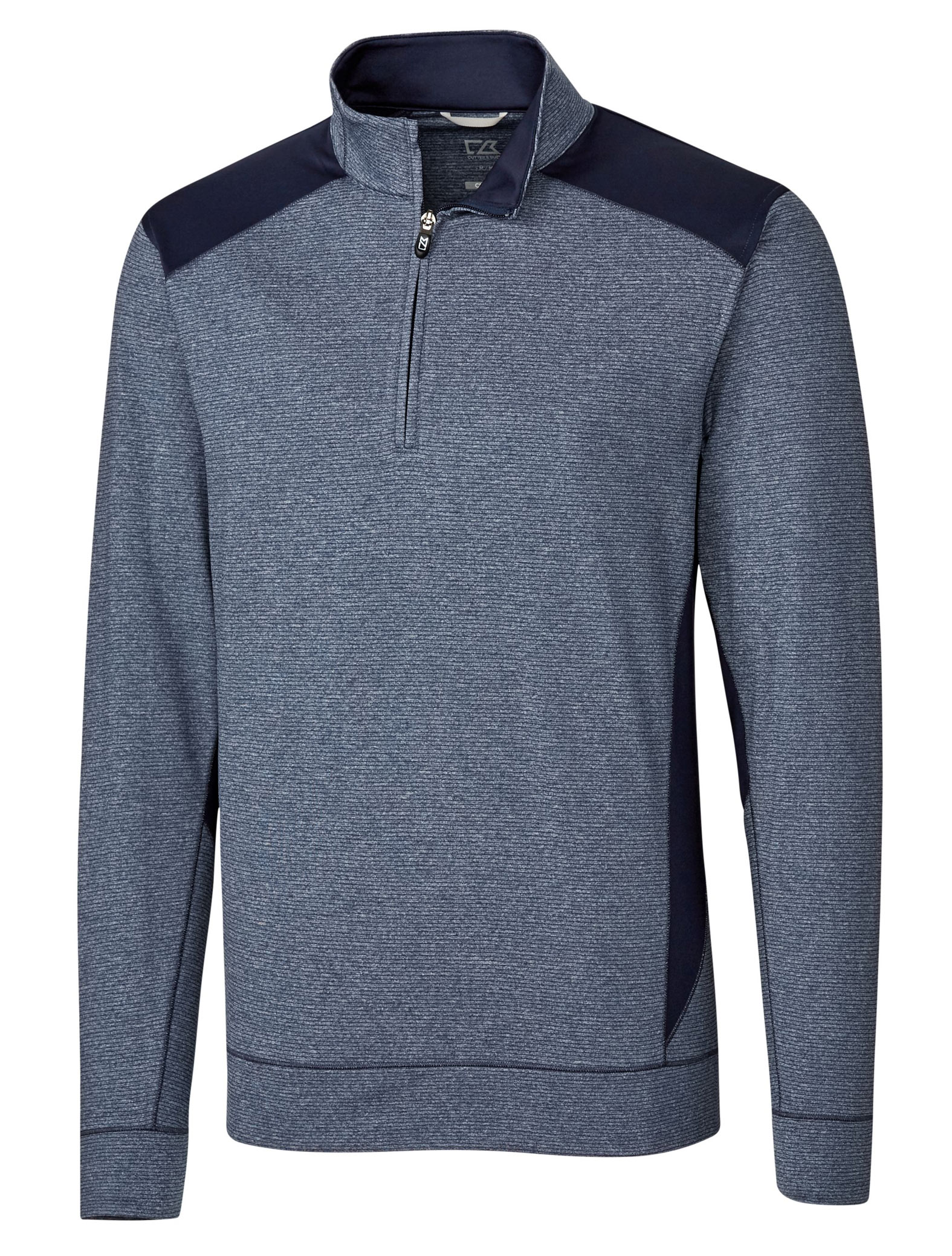 Mens Shoreline Color Block 1/4 Zip