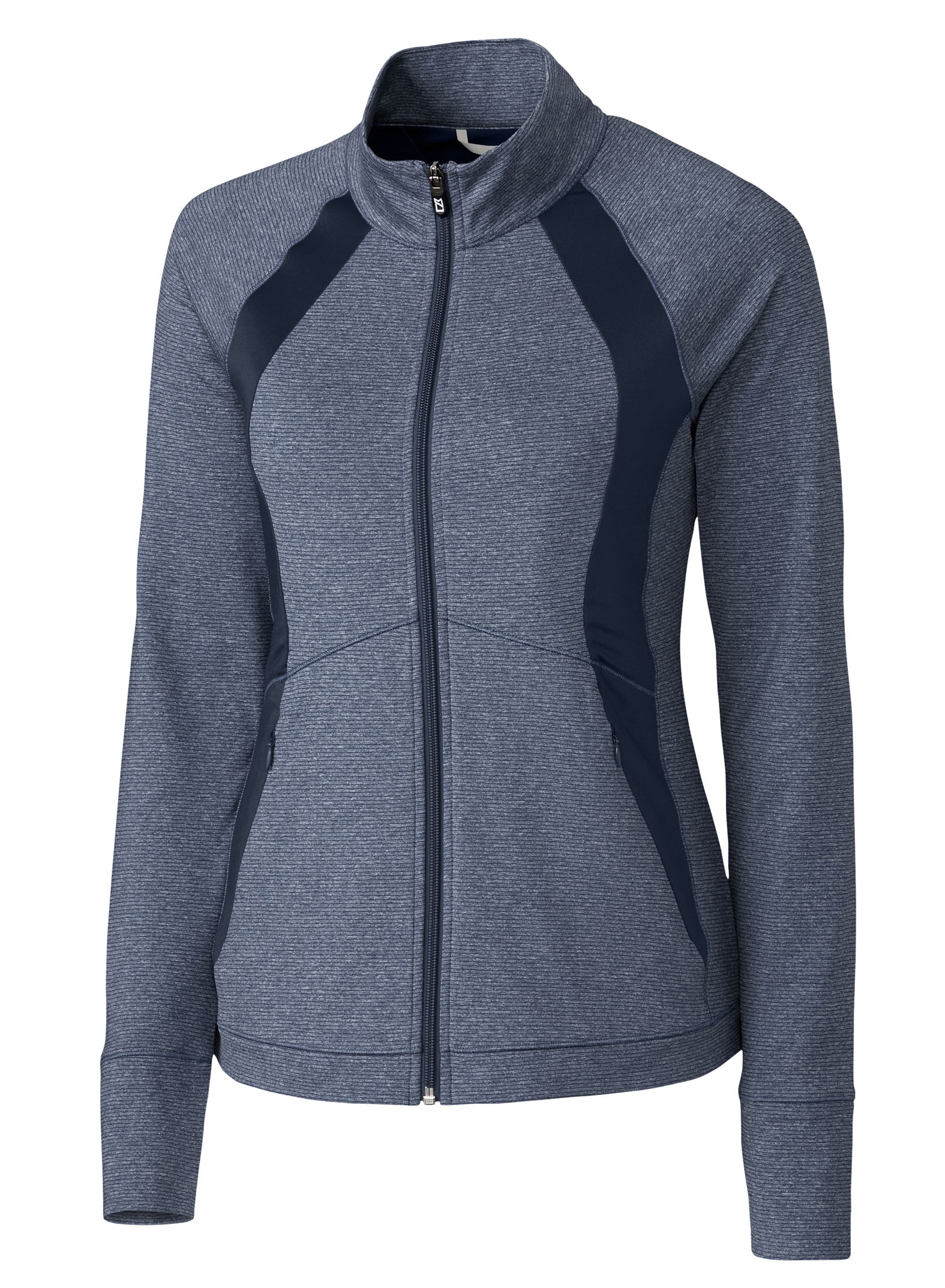 Ladies Shoreline Colorblock Full Zip
