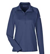 Custom Ladies Under Armour Tech™ Quarter Zip