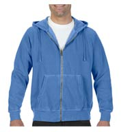 Custom Comfort Colors Adult 9.5oz Full Zip Hooded Sweatshirt