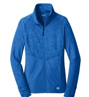 Custom Ogio® Endurance Ladies Sonar Full Zip Jacket