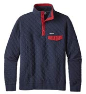 Custom Mens Cotton Quilt Snap-T® Pullover by Patagonia