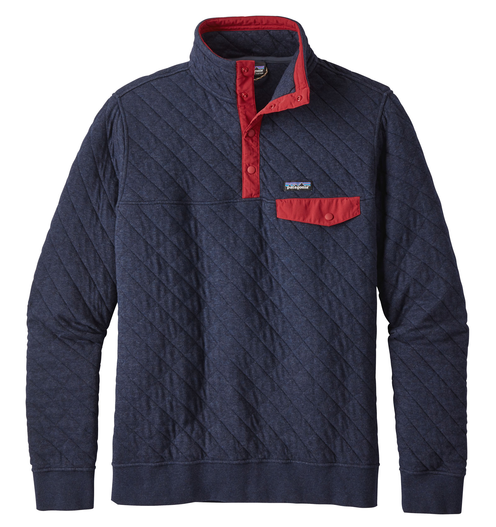 Mens Cotton Quilt Snap-T® Pullover by Patagonia
