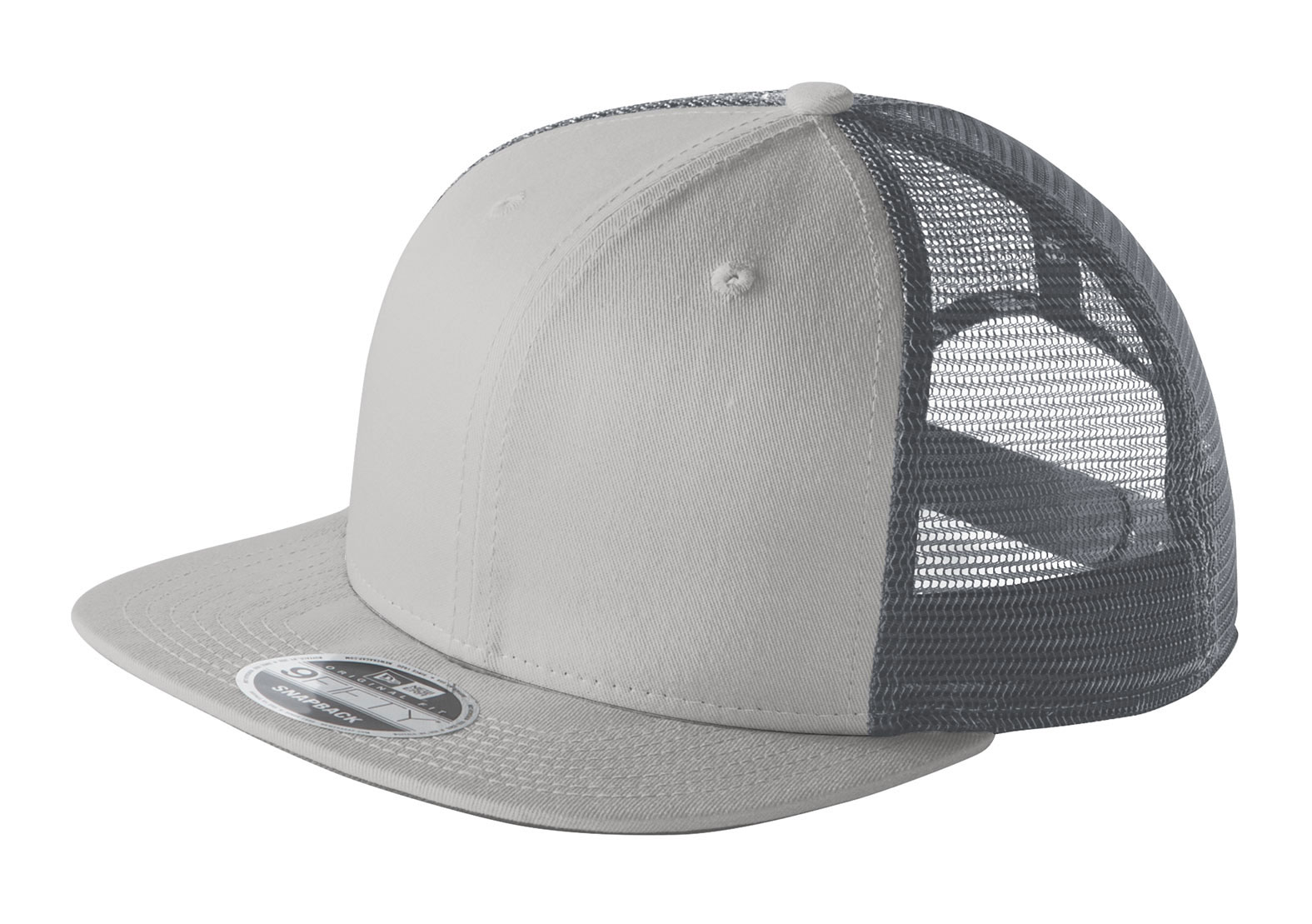 Custom New Era® Original Fit Snapback Trucker Cap b841abfc259