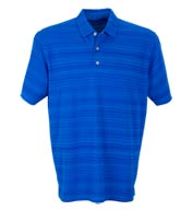 Custom Vansport Mens Strata Textured Polo