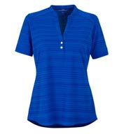 Custom Vansport Womens Strata Textured Polo