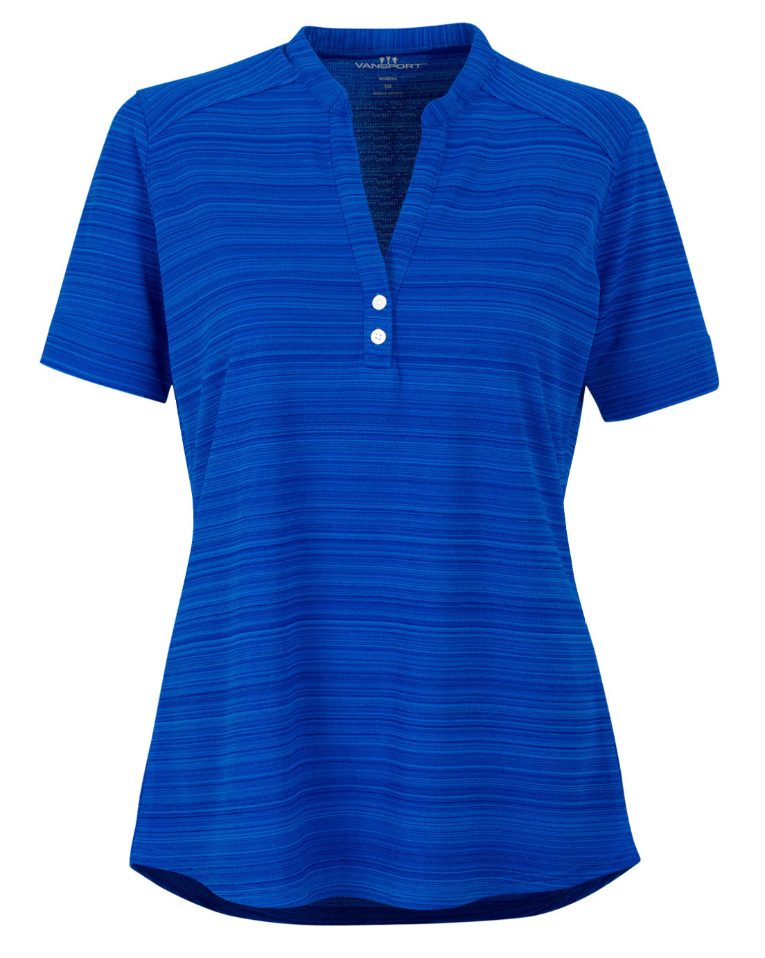 Vansport Womens Strata Textured Polo