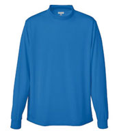 Custom Adult Rapid Dry Mockneck Long Sleeve