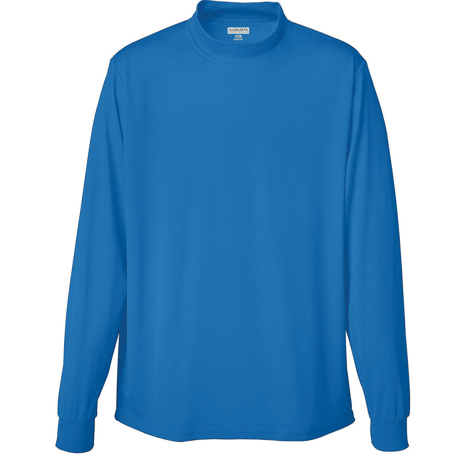 Adult Rapid Dry Mockneck Long Sleeve