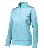 Custom Augusta Ladies Stoked Tonal Heather 1/4 Zip