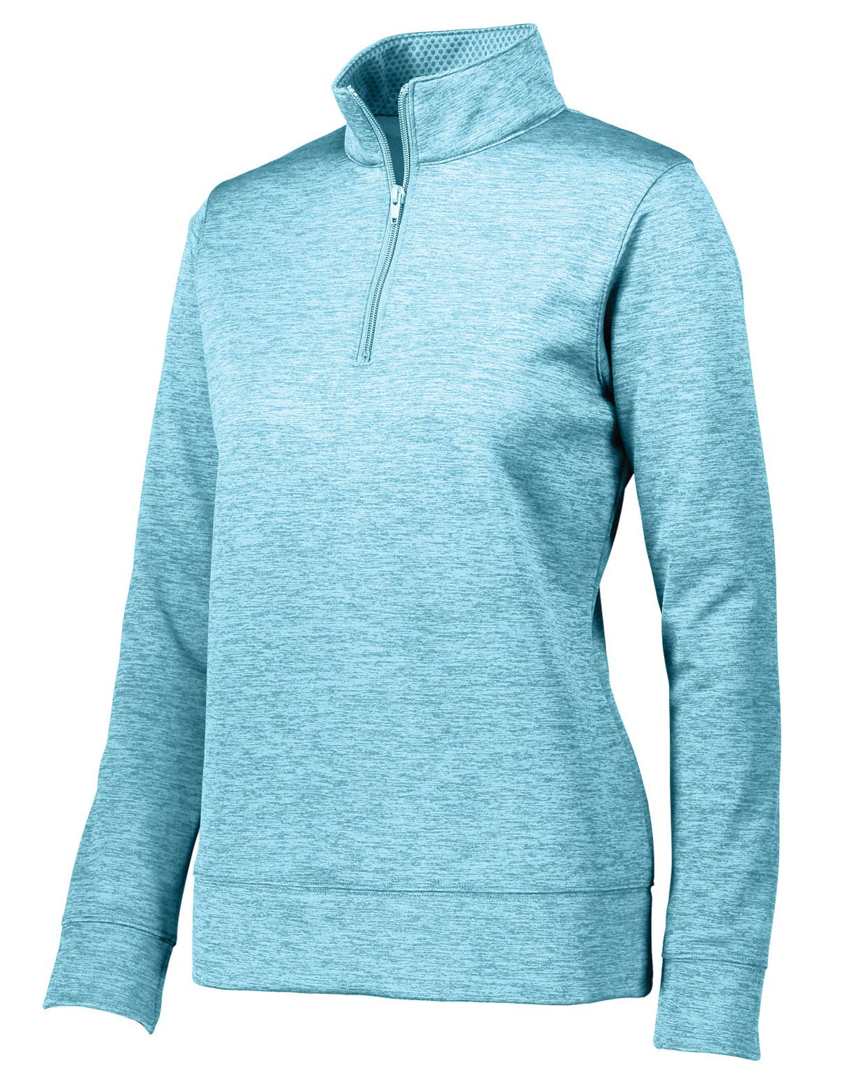 Augusta Ladies Stoked Tonal Heather 1/4 Zip