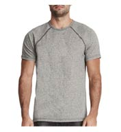 Custom Next Level Mens Mock Twist Raglan T-Shirt