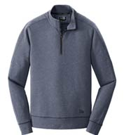 Custom New Era® Mens Tri-Blend Fleece 1/4 Zip Pullover