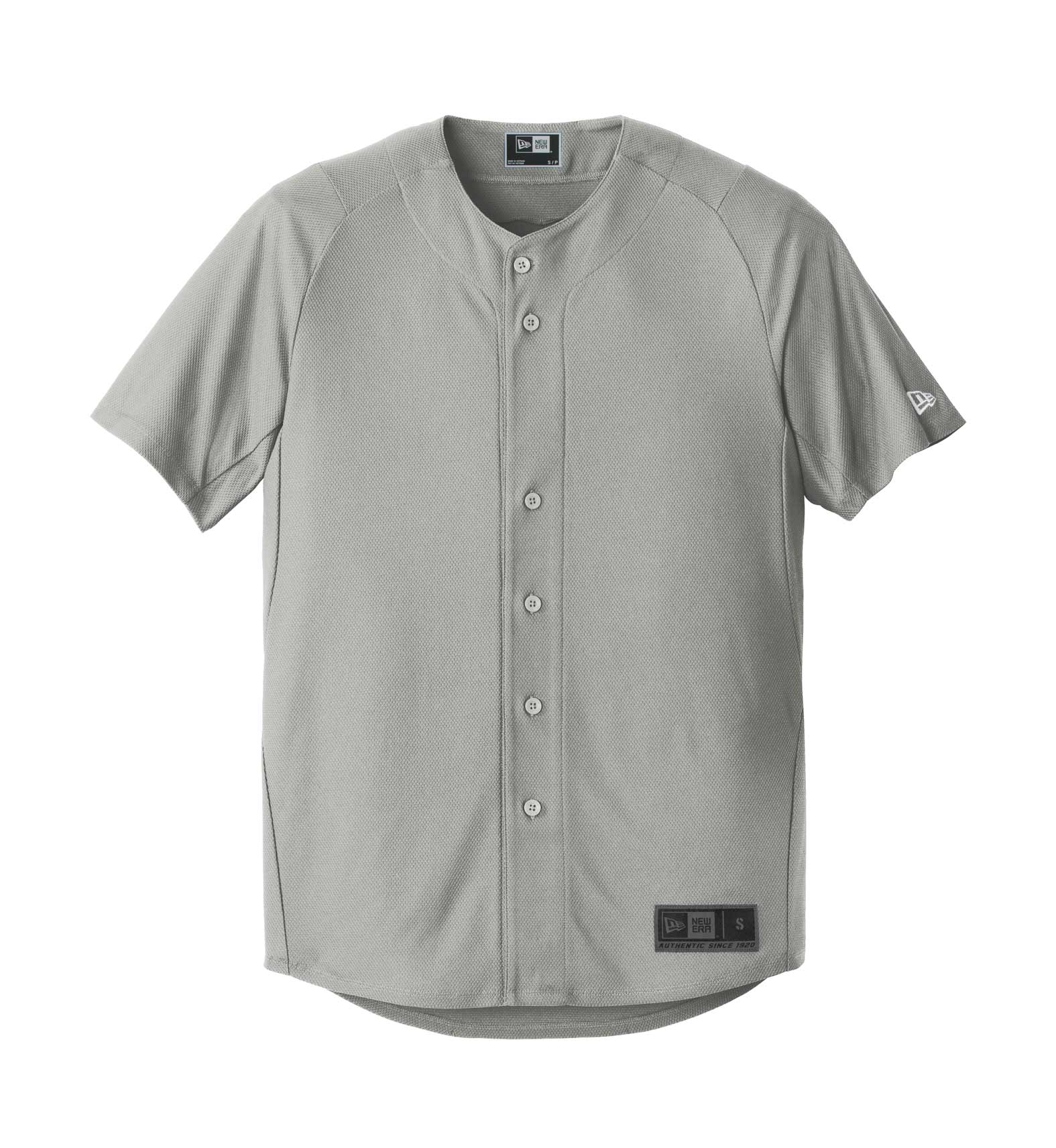 New Era® Mens Diamond Era Full-Button Jersey