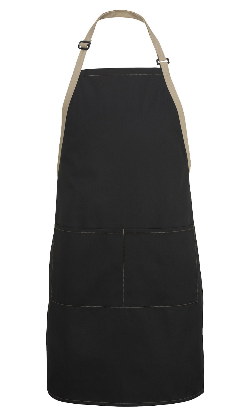 Adult Bib Apron - Color Blocked