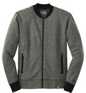Custom New Era® Mens French Terry Baseball Full-Zip